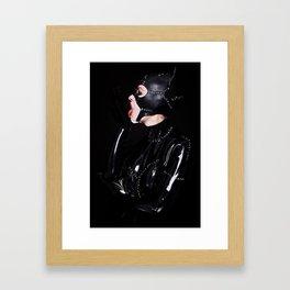 Life's a Bitch, Now so am I! Framed Art Print