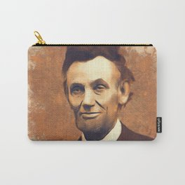 Abraham Lincoln, President, United States of America Carry-All Pouch