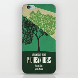 Photosynthesis - Minimalist Board Games 10 iPhone Skin
