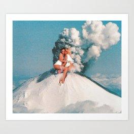 Eruptions 2 Kunstdrucke