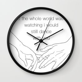 This Town - Niall Horan Wall Clock