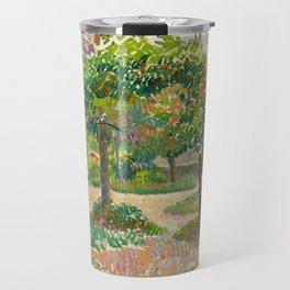 "Camille Pissarro ""Jardin à Éragny"" Travel Mug"