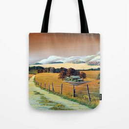 Countryside scenery in Iceland. Tote Bag