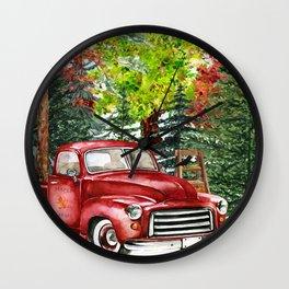 Maple Farms Wall Clock