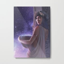 Dream Guide Metal Print