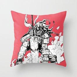 Great Sword Throw Pillow
