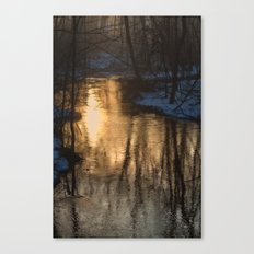 Early Morning Winter Canvas Print