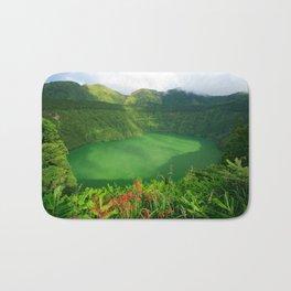 Lake in Azores Bath Mat