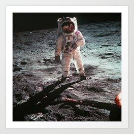 Moon landing 4 Art Print