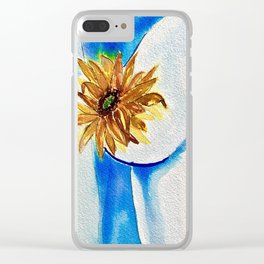 Floral Femme Clear iPhone Case