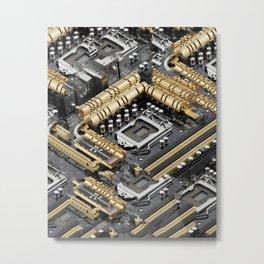 Z87-DELUXE Metal Print