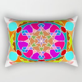Beautiful Mandala Ornament Rectangular Pillow