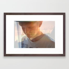 The Man From Another Place Framed Art Print