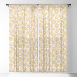 Breads - Bg Light Jute Sheer Curtain