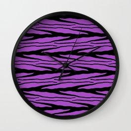 A New Wild - Purple Wall Clock