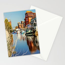 At the riverside. Stationery Cards
