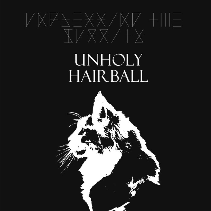CAT METAL : Unblessing the Purrity - Unholy Hairball Duvet Cover