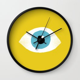 eye open Wall Clock