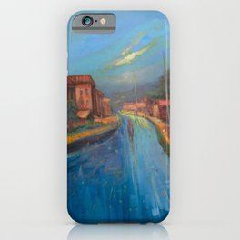 The Blue Highway Home  iPhone Case