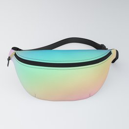 Soft Pastel Rainbow Ombre Design Fanny Pack