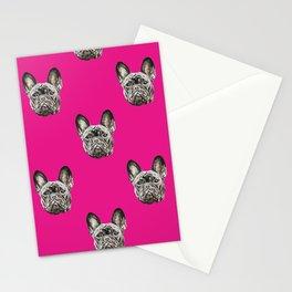 French Bulldog dog Stationery Cards