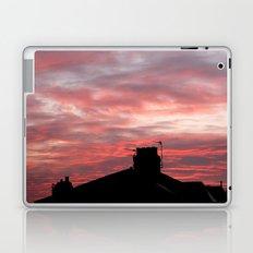 Winter sunset over London Laptop & iPad Skin