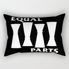 Equal Parts Rectangular Pillow