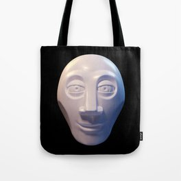 Alien-human hybrid head Tote Bag