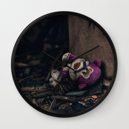 Lotso Bear Abandoned Shot Wall Clock