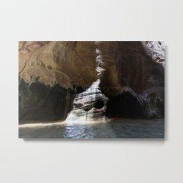 Strange Places (Zion National Park, Utah) Metal Print