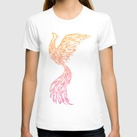phoenix T-shirts featuring Phoenix by Freeminds