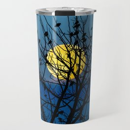 Night Birds Travel Mug