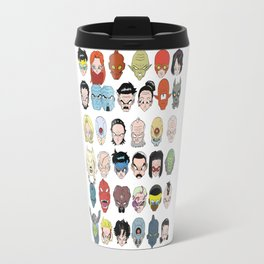 Space Warriors from Universe 7 Travel Mug