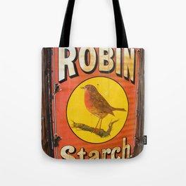 Robin Starch Tote Bag