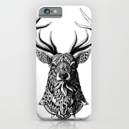 Ornate Buck iPhone Case