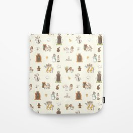 The Holy Grail Pattern Tote Bag