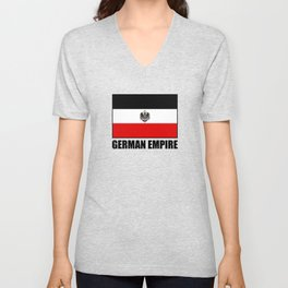 Flag Of German Empire Unisex V-Neck