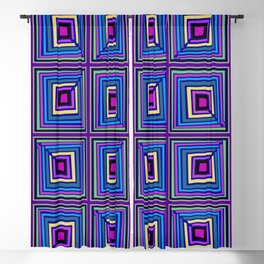 New Wave Purple Blackout Curtain