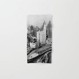 Largest travel Chicago River Chicago Illinois Hand & Bath Towel