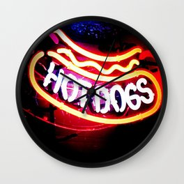Hot Dogs The Ultimate Americana Wall Clock