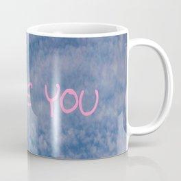 I love you,love,sky,cloud,girl, romantic,romantism,women,heart,sweet Coffee Mug