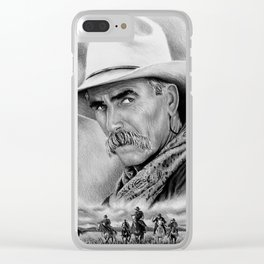 Cowboy Clear iPhone Case