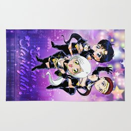 Chibi Sailor Starlights Rug