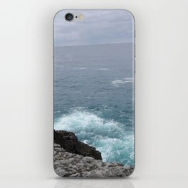 Cold cantabrian sea iPhone Skin