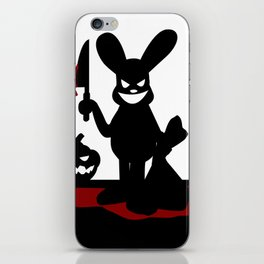 Bloody Rabbit Halloween version iPhone Skin