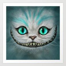 Smile Cat - CHESIRE Art Print