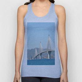 Rio Antirrio Bridge Unisex Tank Top