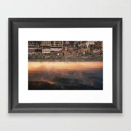 inverted views Framed Art Print
