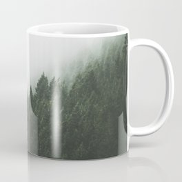 Green with Fog Coffee Mug