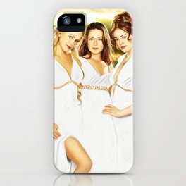 Charmed Goddesses iPhone Case